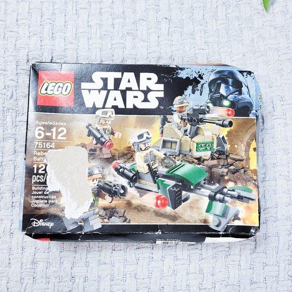 New ~ Lego Star Wars ~ Minifigure ~ Rebel Trooper 3 ~ 75164 ~ Battle Pack